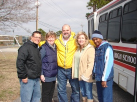 Part of the team leaving PVUMC