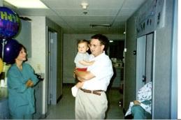 Dad and Will at NRMC 95