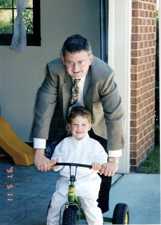 Dad and Will - May 97