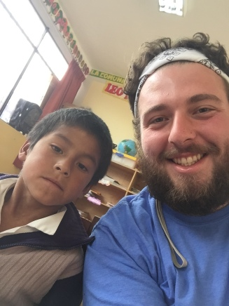 Will and buddy from Peru