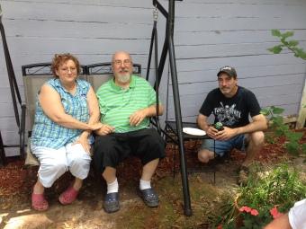 Rita, Mike and Shane