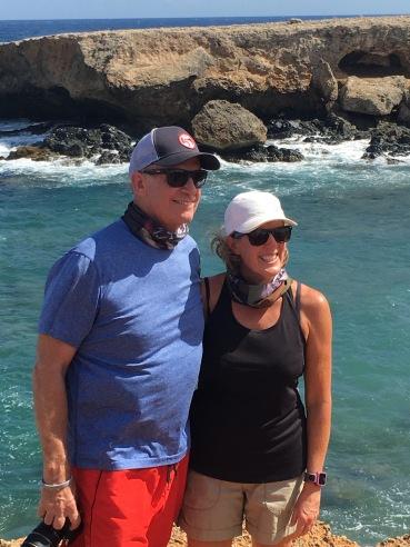 Bill & PJ in Aruba