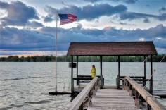 Lake St. John in Louisiana