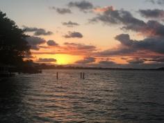 Sunset on Lake St. John